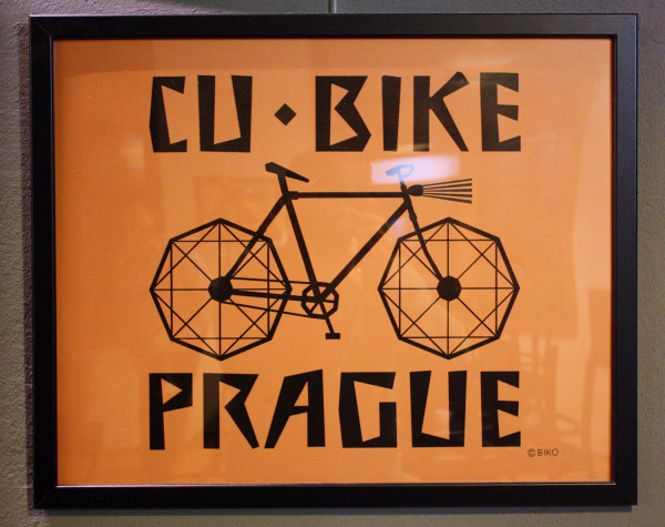 cubism poster prague
