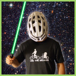 T-shirt Use-the-bicycle
